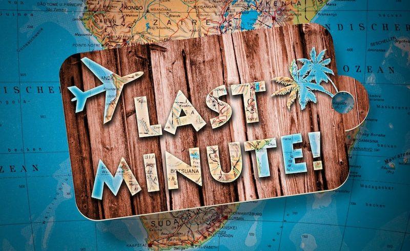 Vacances dernière minute