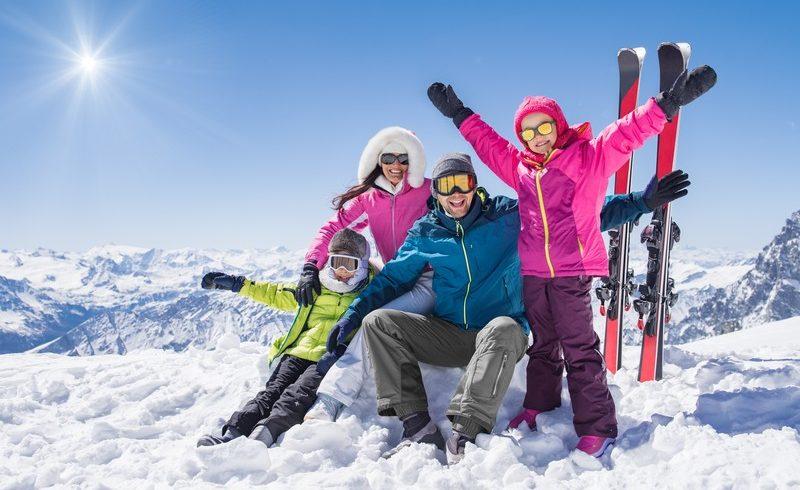 vacances ski en février